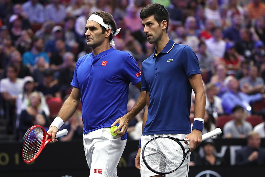 Федерер победил Надаля и встретится с Джоковичем в финале Уимблдона-2019