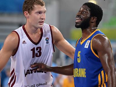 Латвия - Украина - 85:51