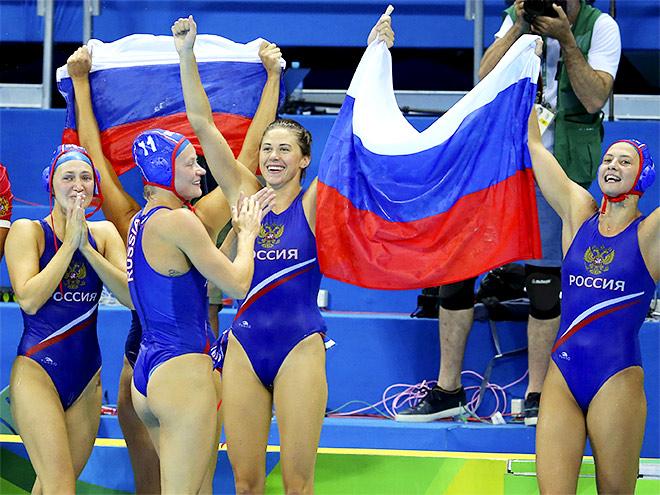 Водное поло. Венгрия - Россия. Фото с матча за бронзу