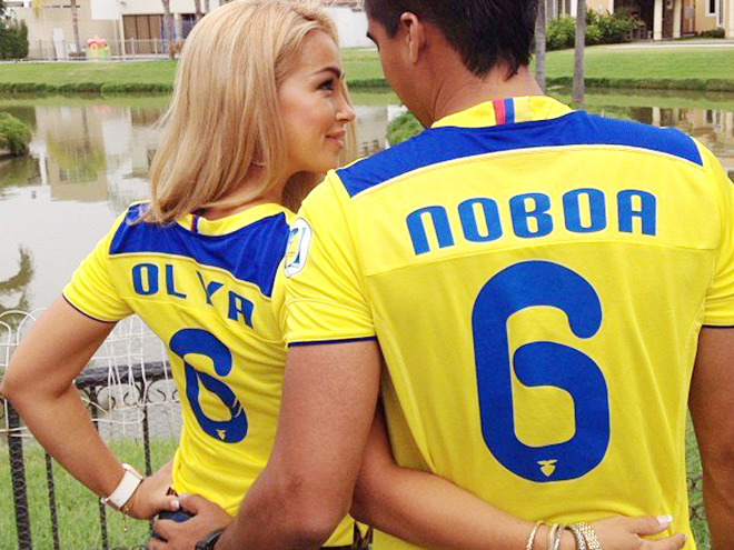 Ольга и Кристиан Нобоа