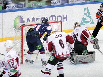Нижегородское «Торпедо» одержало свою первую победу в плей-офф КХЛ
