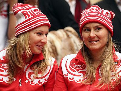 Екатерина Макарова и Надежда Петрова