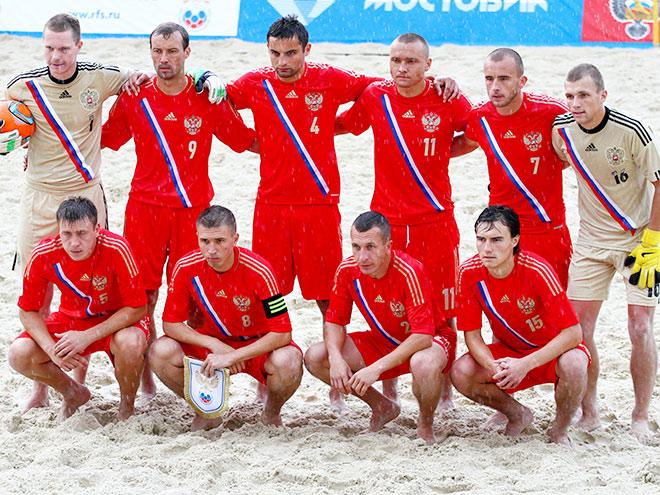Командное фото сборной России