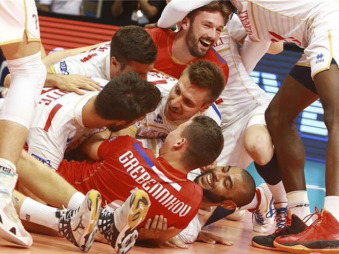 Впервые в финале МЛ сыграют сербы и французы