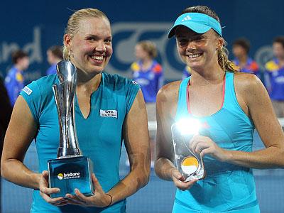 Канепи и Чжэн стали первыми чемпионками года