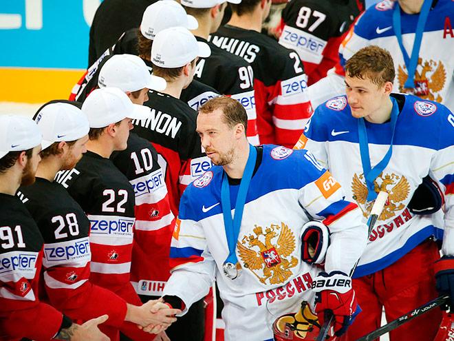 Сборная России не смогла выиграть ЧМ-2015