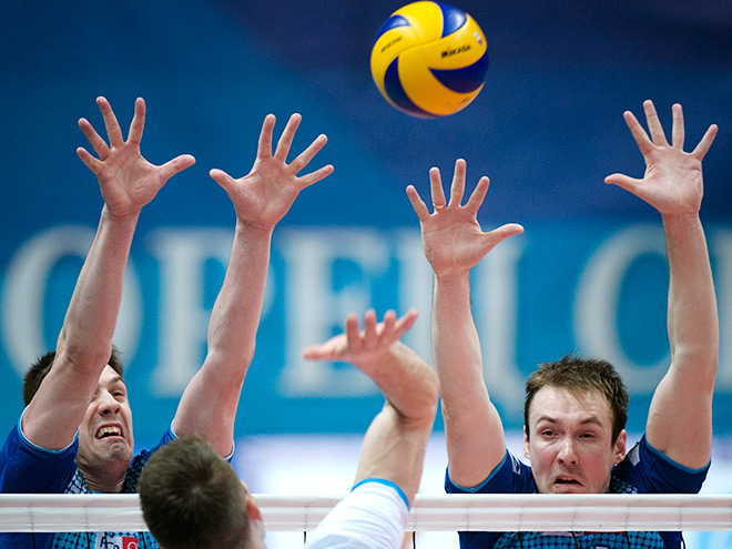 Волейбол. Чемпионат России
