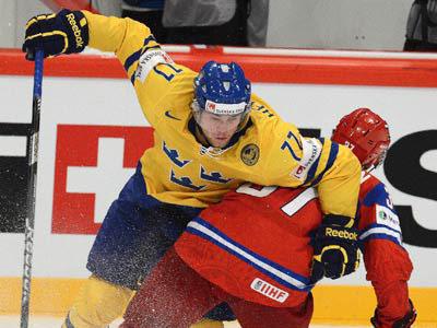Шведский защитник Виктор Хедман рассказал о матче с Россией