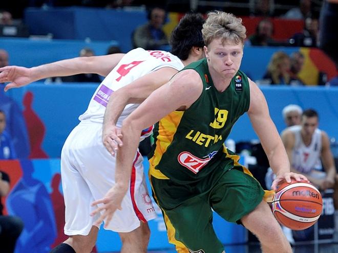 Литва сыграет с Испанией в финале чемпионата Европы