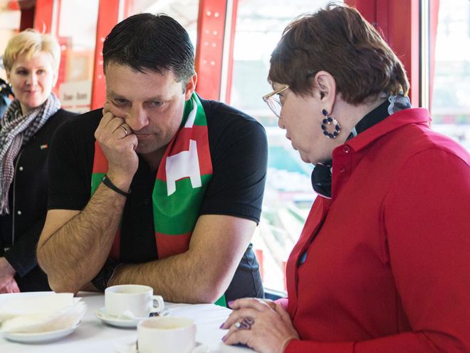 Игорь Черевченко и Ольга Смородская