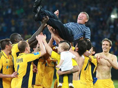 Харьковчане впервые в Лиге чемпионов