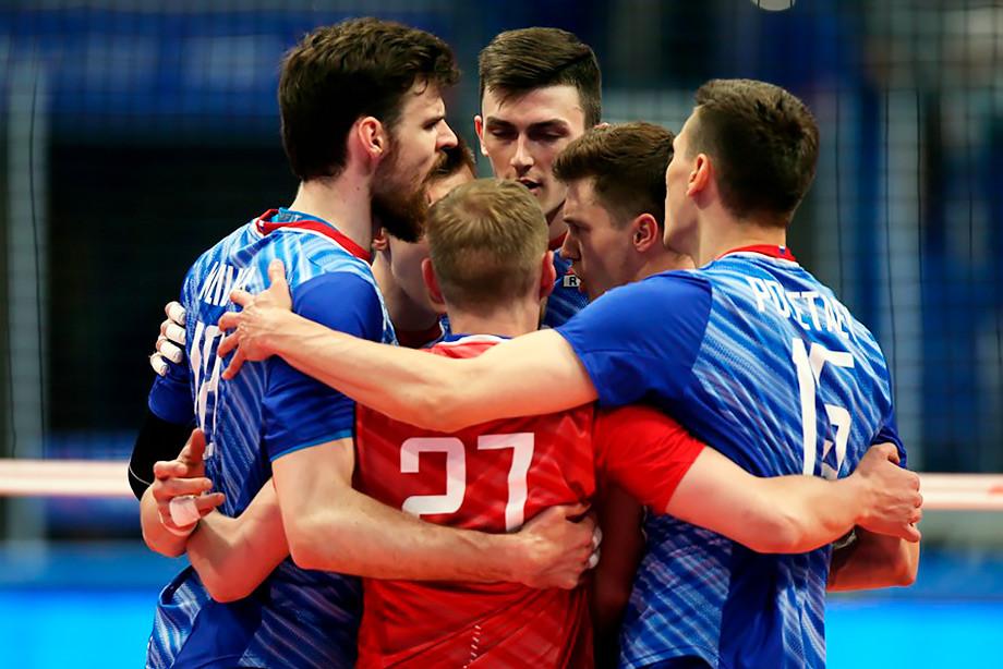 России — США — 3-0. Обзор матча Лиги наций-2019