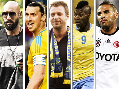 5 игроков, часто менявших команды