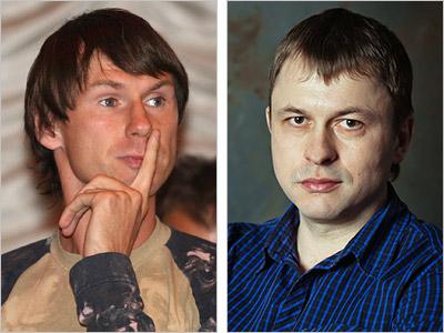 Егор Титов и Олег Лысенко