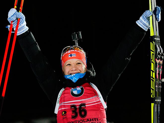 Мякяряйнен победила в Ханты-Мансийске