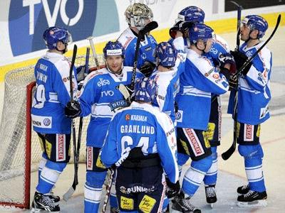 Сборная Швеции проиграла финнам
