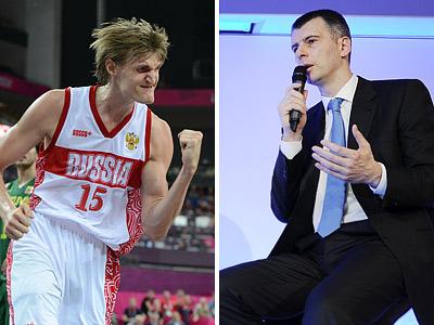 Андрей Кириленко и Михаил Прохоров