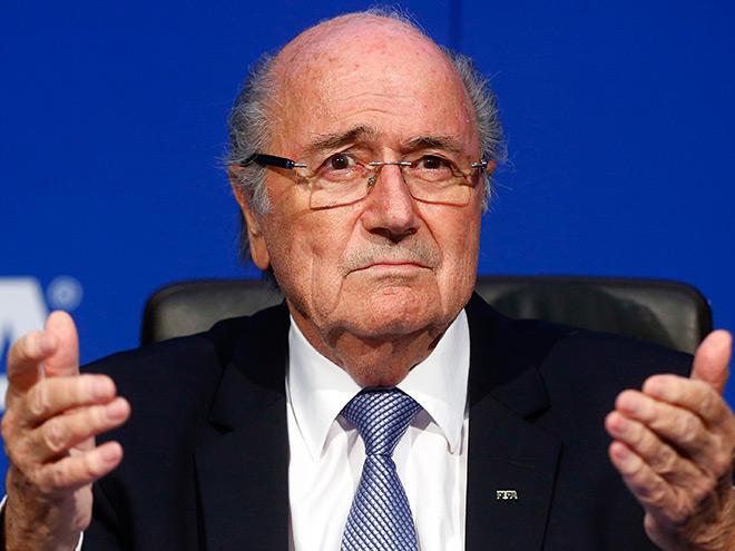 Экс-президент ФИФА Зепп Блаттер