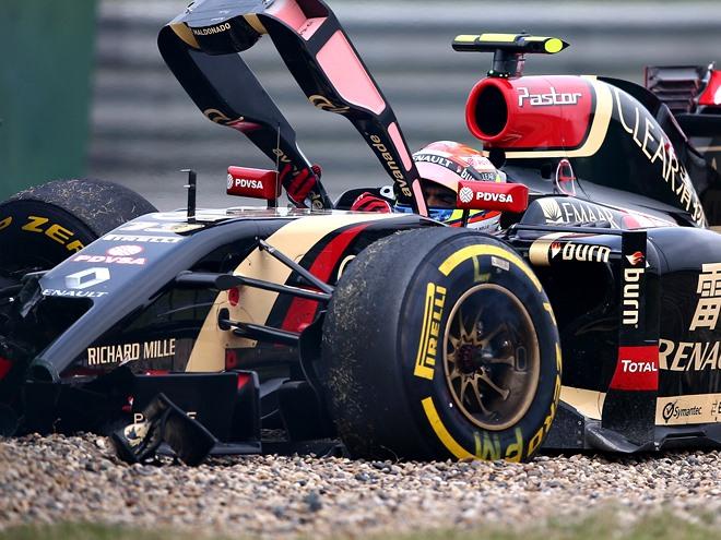 Странные аварии и сходы на Гран-при Формулы-1