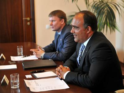 Делегация ВХЛ встретилась с губернатором Воронежской области