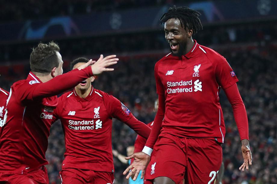 «Ливерпуль» — «Барса» — 4:0, победный гол Ориги