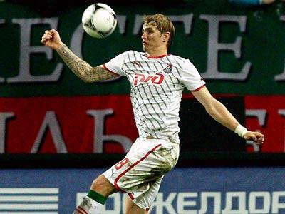 Роман Павлюченко забил гол бывшей команде