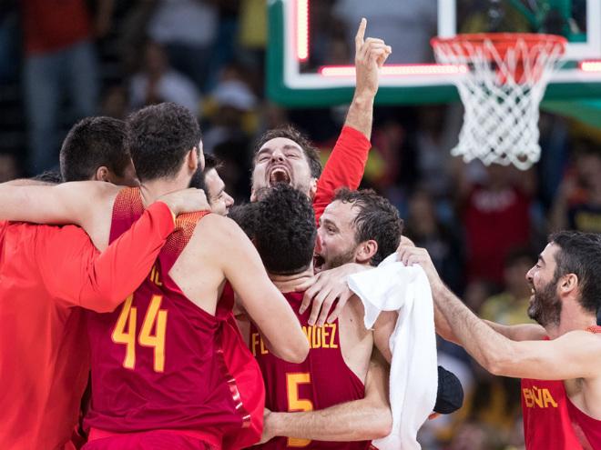 Испания победила Австралию в матче за третье место на Олимпиаде в Рио
