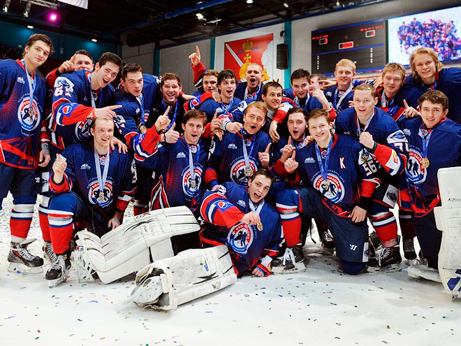 Шестой Кубок вызова МХЛ выиграл Запад