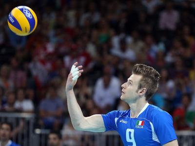 Итальянский волейболист Иван Зайцев
