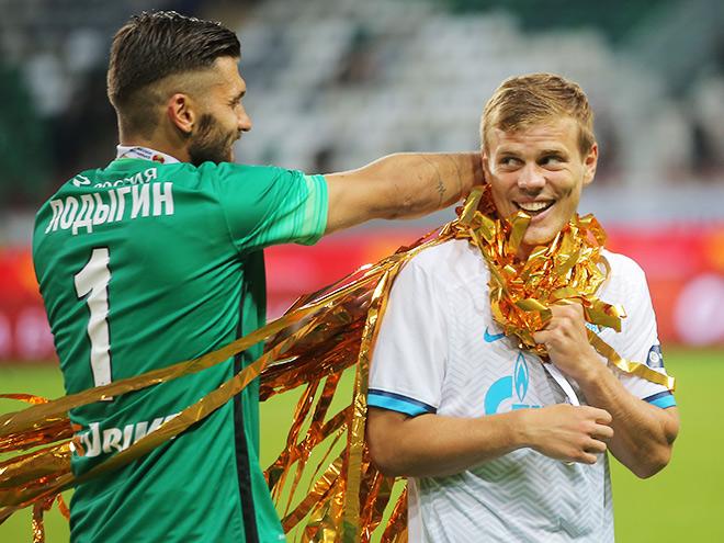 «Зенит» выиграл у ЦСКА в матче за Суперкубок со счетом 1:0