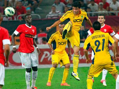 Сегодня «Металлист» проведёт ответный матч с «Динамо» из Бухареста