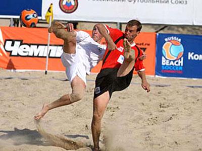 Сезон пляжного футбола открыт