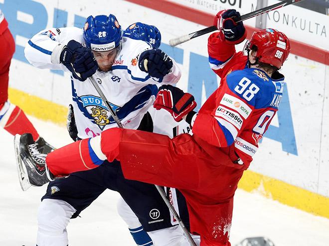 Кубок Карьяла. Финляндия — Россия — 2:1