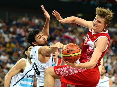 Лондон-2012. Баскетбол. Андрей Кириленко