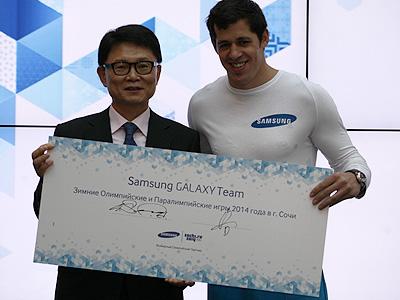 Состоялось представление Samsung Galaxy Team