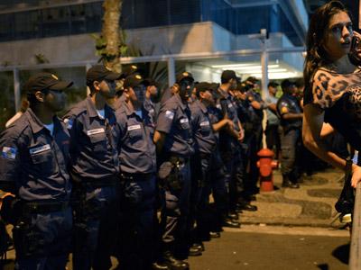 В Бразилии массовые беспорядки