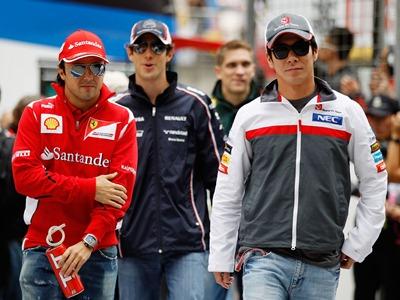 Какие места остались в Формуле-1 на сезон-2013?