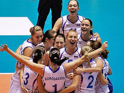Победа русского волейбола