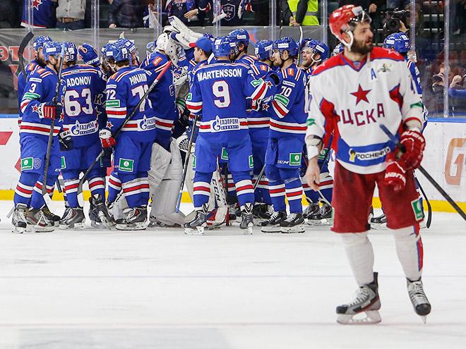 СКА выиграл у ЦСКА и добился права на 7-й матч