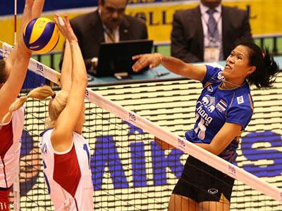 Россиянки проиграли сборной Таиланда 1:3