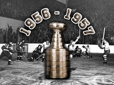 Кубок Стэнли. Часть 65. 1956-1957