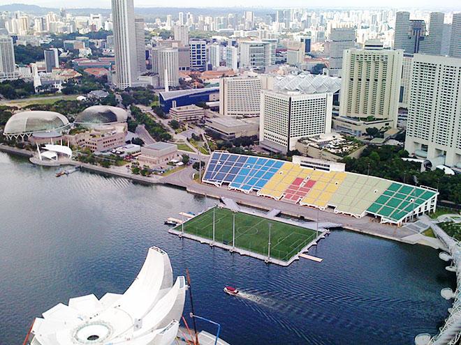 8 самых необычных футбольных стадионов мира