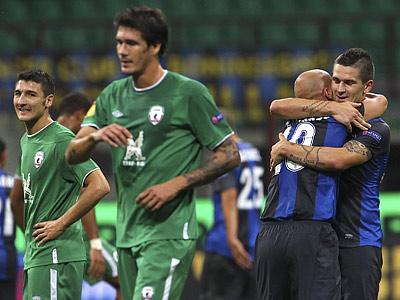 «Рубин» на последних минутах упустил победу над «Интером»