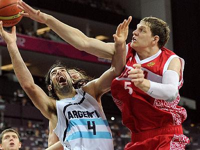 Лондон-2012. Баскетбол. Тимофей Мозгов