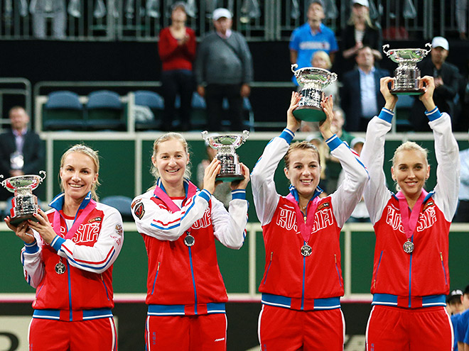 Сборная России по теннису