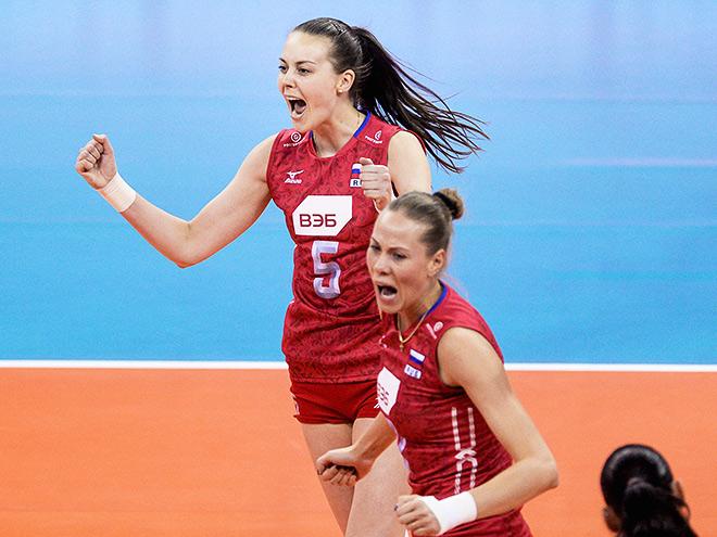 Женская сборная России по волейболу завоевала серебро Гран-при
