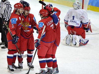 Зимняя Универсиада. Чехия – Россия – 1:7