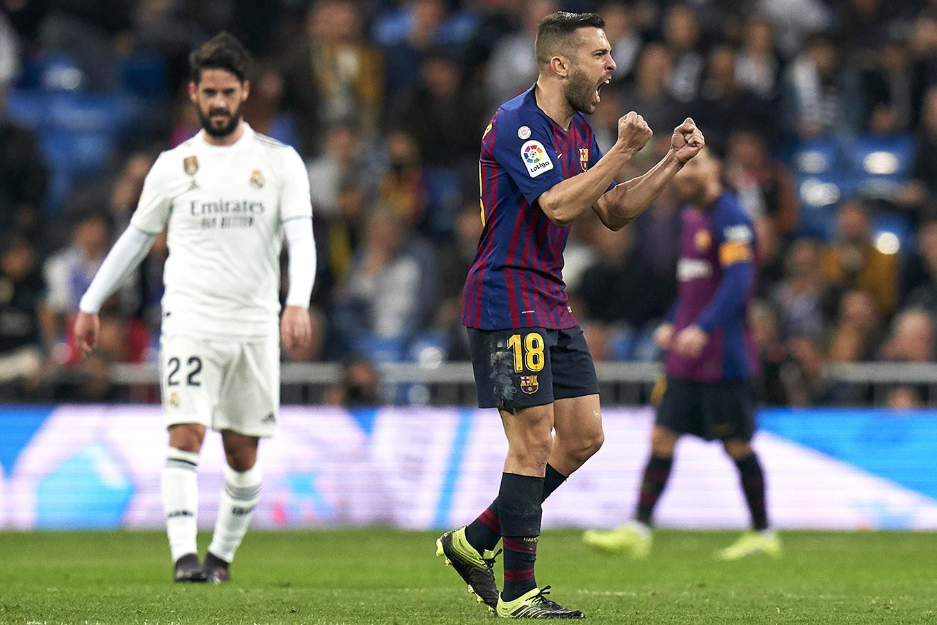 Барселона реал мадрид по какому