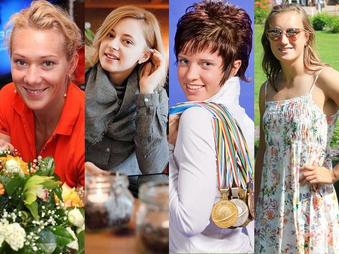 Самые красивые биатлонистки сборной России
