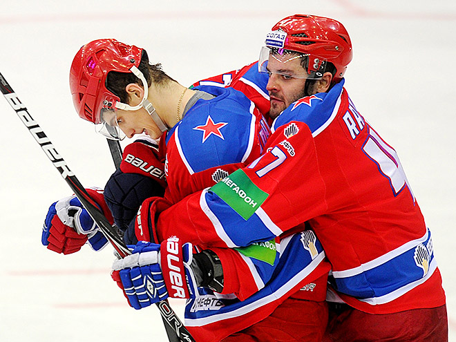 Итоги игрового дня КХЛ (28.10.2014)